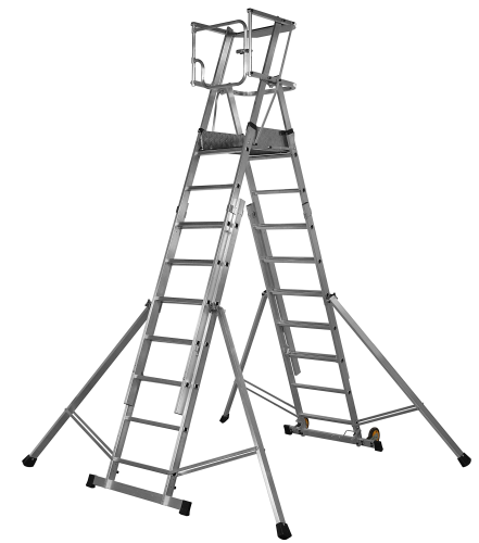 Youngman 7 - 9 Tread Teleguard Platform Ladder 317515