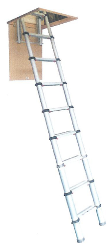 Youngman Telescopic Large Loft Ladder 2.9m 301001
