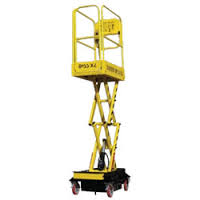 Boss X2 Micro Scissor Lift