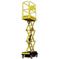 Boss X3 Micro Scissor Lift