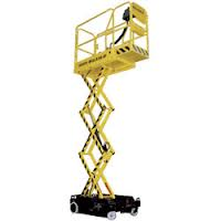 Boss X3X-SP Powered Micro Scissor Lift
