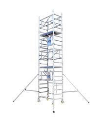 Boss Solo 700 Scaffold Tower 700mm x 1.3m x 2.2m platform height 4.2m working height